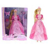 Lalki dla dzieci, Lalka Księżniczka Anlily Roszpunka Z Długimi Włosami 30 Cm
