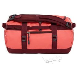 Torba podróżna The North Face Base Camp Duffel XS II - cayenne red / regal red