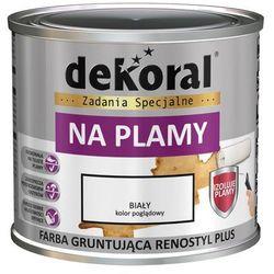 Farba gruntująca RENOSTYL PLUS na plamy 0.4 l Biała DEKORAL