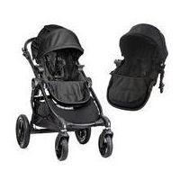 Wózki wielofunkcyjne, W�zek wielofunkcyjny City Select Double Baby Jogger + GRATIS (black)
