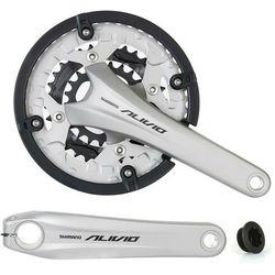 Mechanizm korbowy Shimano Alivio FC-T4060 44x32x22T 9 rz. 175 mm srebrny
