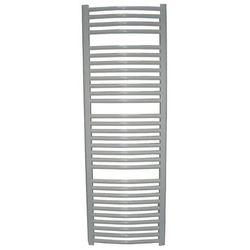 Grzejnik łazienkowy wetherby wykończenie zaokrąglone, 600x1200, biały/ral