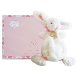Różowa przytulanka - słodki króliczek