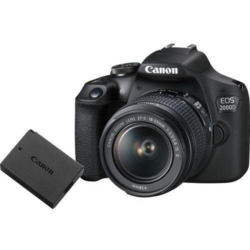 Lustrzanki, Canon EOS 2000D