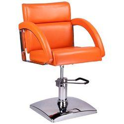 Fotel fryzjerski DINO pomarańczowy BR-3920