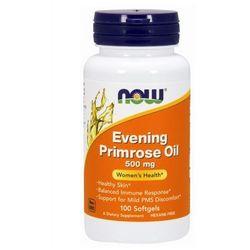 Now Foods Evening Primrose Oil (Olej z nasion wiesiołka) 500mg 100 kaps.