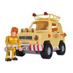 Strażak Sam Jeep Ratunkowy Toms 4x4 Figurka - Simba