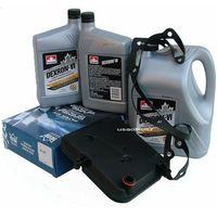 Oleje przekładniowe, Filtr oraz olej Dextron-VI automatycznej skrzyni biegów 42RL Jeep Wrangler 2003-