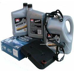 Filtr oraz olej Dextron-VI automatycznej skrzyni biegów 42RL Jeep Wrangler 2003-