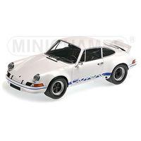 Osobowe dla dzieci, Porsche 911 Carrera RSR 2.7 1972 (white w/blue) - Minichamps