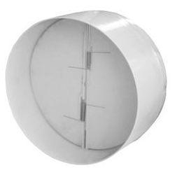Przepustnica Dospel STYL 120 007-4251 zawór zwrotny do wentylatorów fi120 biały