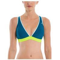 Stroje kąpielowe, strój kąpielowy BENCH - Sporty Halter Top W Elastic Dark Blue (BL168) rozmiar: S