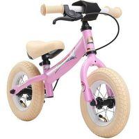"""Rowerki biegowe, Rowerek biegowy 10"""" BIKESTAR GERMANY sport kolor różowy jednorożec"""