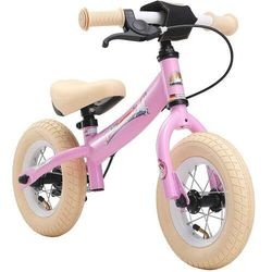 """Rowerek biegowy 10"""" BIKESTAR GERMANY sport różowy jednorożec"""