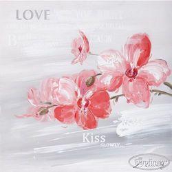 Obraz ręcznie malowany - Justyna z napisami - Eurofirany