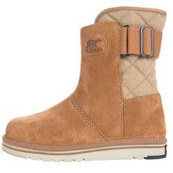 Sorel Newbie Snow boots Brązowy Beżowy 36 Przy zakupie powyżej 150 zł darmowa dostawa.