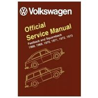 Biblioteka motoryzacji, Volkswagen Fastback and Squareback Type 3 Official Service Manual 1968-1973
