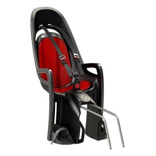 Foteliki rowerowe, Fotelik HAMAX Zenith czerwony-szary