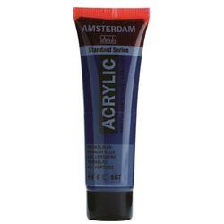 Farba akryl AMSTERDAM 120ml. - greenish blue 557