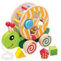 Pozostałe zabawki, EH Kolorowy żółwik sorter