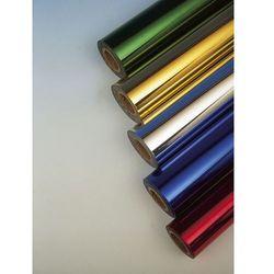 Metaliczna folia barwiąca do złocenia - rolka