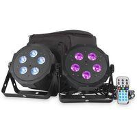 Akcesoria DJ, American DJ VPAR PAK - zestaw 2 reflektorów LED RGBA + pokrowiec + pilot Płacąc przelewem przesyłka gratis!