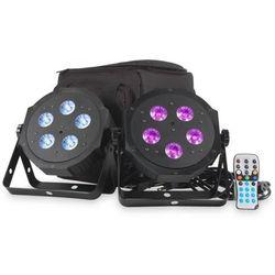 American DJ VPAR PAK - zestaw 2 reflektorów LED RGBA + pokrowiec + pilot Płacąc przelewem przesyłka gratis!