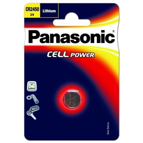 Baterie, Panasonic Bateria litowa CR2450 3V 4355