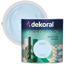 Farba Dekoral Voice of Color niebiańska chmurka 2,5 l
