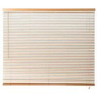 Żaluzje, Żaluzja drewniana Colours Cana 180 x 180 cm jasna brązowa