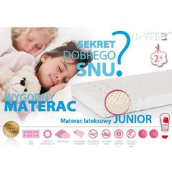 MATERAC LATEKSOWY HEVEA JUNIOR 165x80