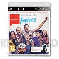 Gry na PS3, Singstar Mistrzowska Impreza (PS3)