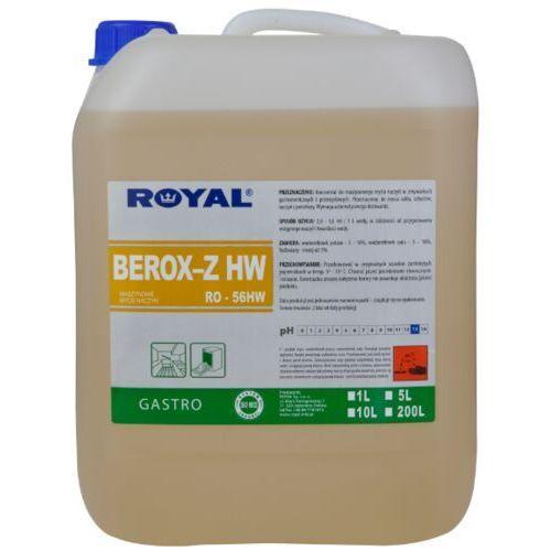 Pozostałe do mycia naczyń, Płyn do zmywarki przemysłowej i gastronomiczne Berox Z 5 l