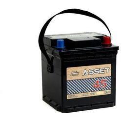 Akumulator ASSET 45Ah 380A EN KOSTKA PRAWY PLUS