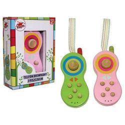 Telefon drewniany z dźwiękiem -.