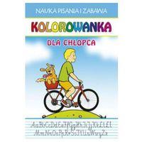 Literatura młodzieżowa, Kolorowanka dla chłopca - guzowska beata, jerzyk katarzyna