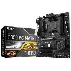 Płyta główna MSI B350 PC MATE, B350, DDR4, SATA3, USB 3.1 gen.1, ATX (7A36-003R) Szybka dostawa! Darmowy odbiór w 20 miastach!