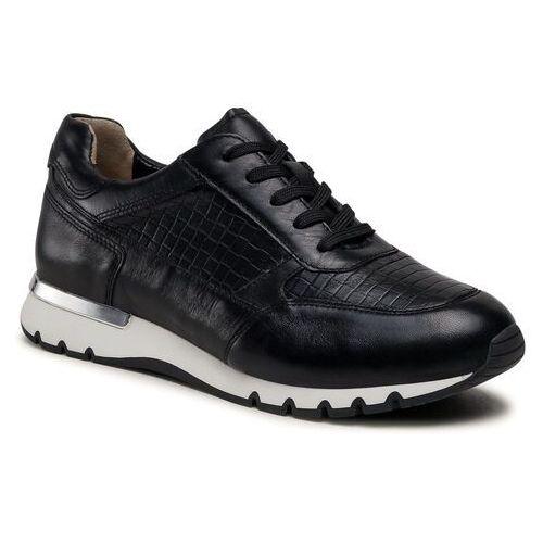 Damskie obuwie sportowe, Sneakersy CAPRICE - 9-23703-26 Black Nappa 022