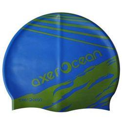 Czepek pływacki AXER A2999 Ocean Młodzieżowy + Zamów z DOSTAWĄ JUTRO!