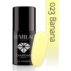 Semilac Paris UV Hybrid UV Hybrid żelowy lakier do paznokci odcień 023 Banana 7 ml