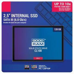 GOODRAM Dysk SSD CL100 G2 120GB SATA3 2,5