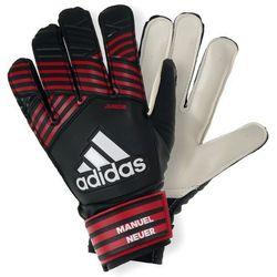 Rękawice bramkarskie ADIDAS BS1555 (rozmiar 4) Czarno-czerwony