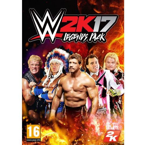 Gry PC, WWE 2K17 Legends Pack (PC)
