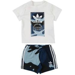 ADIDAS ORIGINALS Garnitur 'Camouflage' niebieski / biały