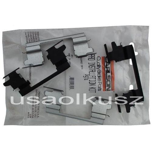 Zestawy naprawcze klocków hamulcowych, Zestaw montażowy tylnych klocków D974 Cadillac Escalade RWD 2003-2006
