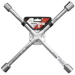 Klucz krzyżakowy do kół 17x19x21x22 mm / YT-0800 / YATO - ZYSKAJ RABAT 30 ZŁ