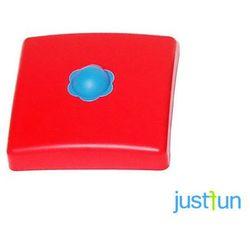 Nakładka plastikowa na belkę kwadratową 100x100 mm - czerwony