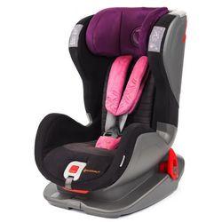 AVIONAUT Fotelik samochodowy EVOLVAIR SOFTY (9-36kg) – czarno-różowy - BEZPŁATNY ODBIÓR: WROCŁAW!