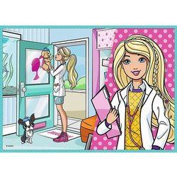 Puzzle 4w1 Barbie, Kariera - DARMOWA DOSTAWA OD 199 ZŁ!!!