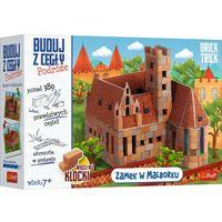 Pozostałe zabawki edukacyjne, Brick trick - buduj z cegły zamek malbork xl trefl